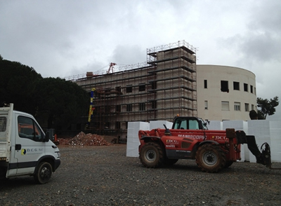 Hospital project for the Orthopedic Trauma Centre - Iglesias
